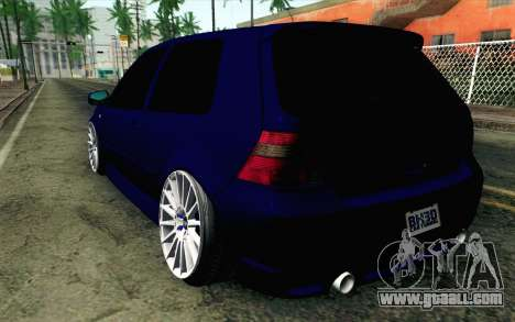 Volkswagen Golf Mk4 R32 Stance v2.0 for GTA San Andreas left view