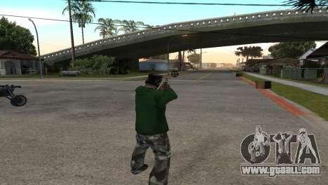 Black Deagle for GTA San Andreas third screenshot