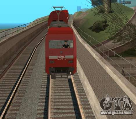 Israeli Train for GTA San Andreas right view