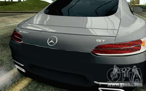 Mercedes-Benz AMG GT 2015 for GTA San Andreas back view