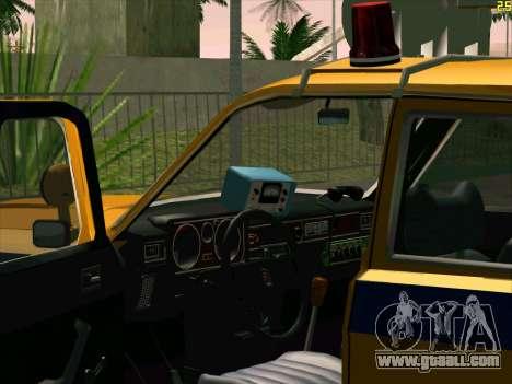 Volga 24-10 GAI for GTA San Andreas back view