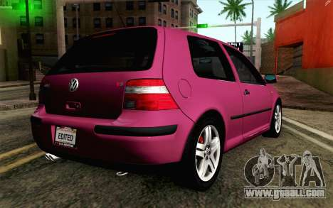 Volkswagen Golf v5 Stock for GTA San Andreas left view