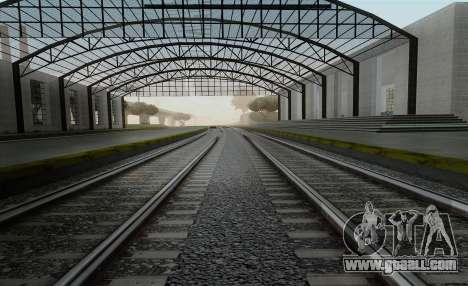 HD Rails v3.0 for GTA San Andreas