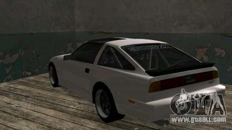 Nissan Fairlady Z 300ZX (Z31) for GTA San Andreas right view