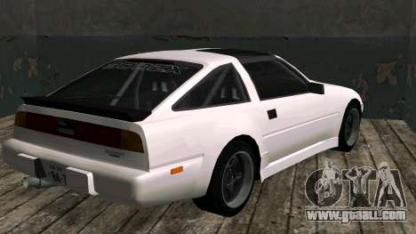 Nissan Fairlady Z 300ZX (Z31) for GTA San Andreas back left view