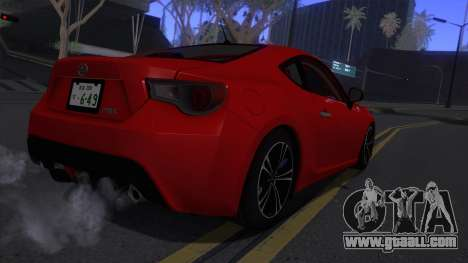 Scion FR-S 2013 Stock v2.0 for GTA San Andreas right view
