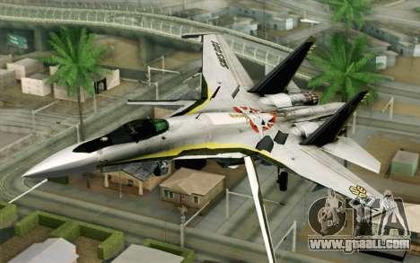 Sukhoi SU-27 Macross Frontier for GTA San Andreas