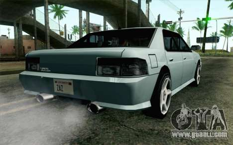 Sultan Lan Evo for GTA San Andreas left view