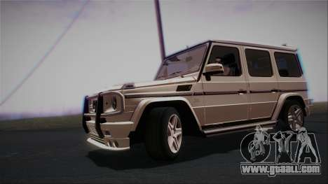 Mercedes-Benz G65 2013 AMG Body for GTA San Andreas left view
