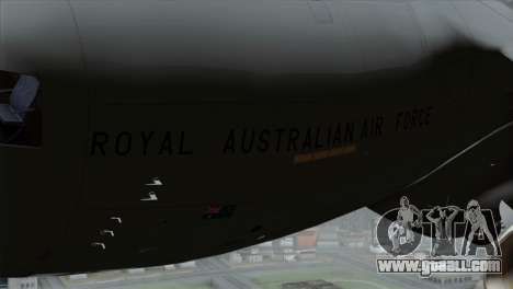 C-17A Globemaster III RAF for GTA San Andreas right view