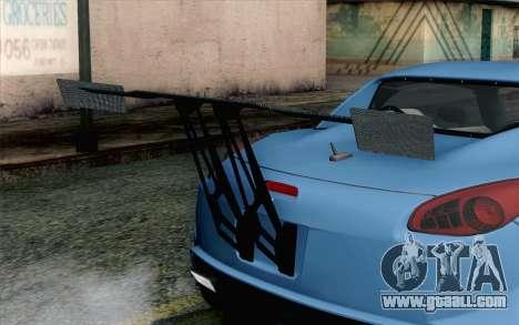 Pontiac Solstice for GTA San Andreas back view
