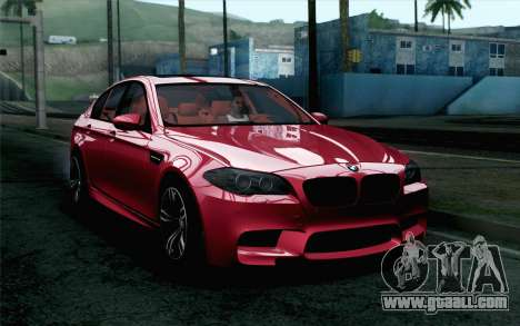 BMW M5 F10 2012 Stock for GTA San Andreas