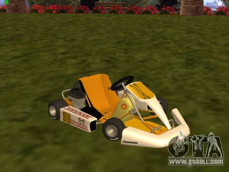 Kart per XiorXorn for GTA San Andreas left view