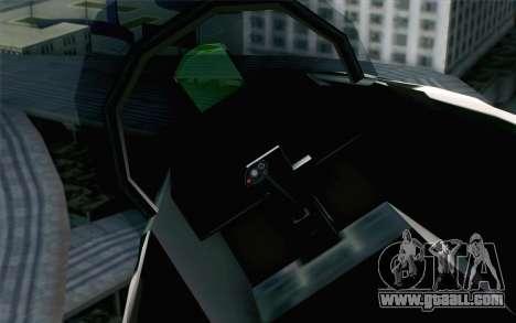 Hydra ADFX-02 Pixy for GTA San Andreas right view