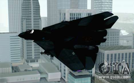 F-14 Raptor Squadron Force for GTA San Andreas left view