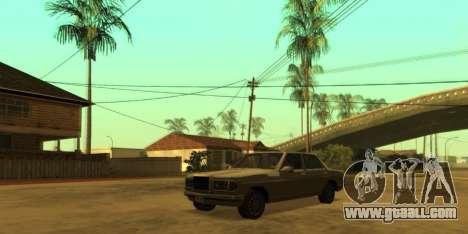 SkyGFX v1.3 for GTA San Andreas third screenshot