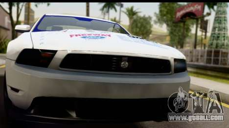 Ford Mustang 2010 Cobra Jet for GTA San Andreas back left view
