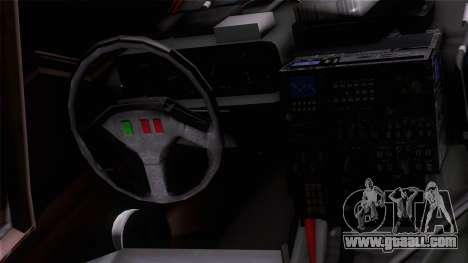 Shuttle v1 (wheels) for GTA San Andreas back view