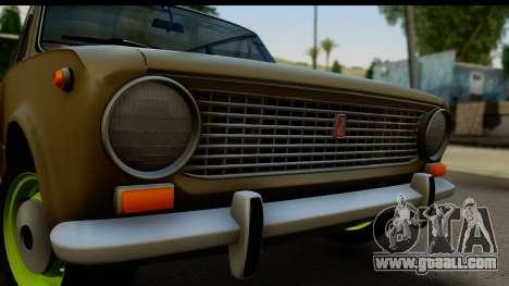 VAZ 2101 Stock v3.2 for GTA San Andreas back left view