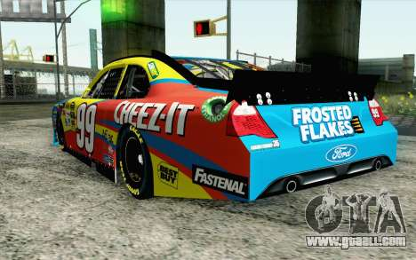 NASCAR Ford Fusion 2012 Short Track for GTA San Andreas left view