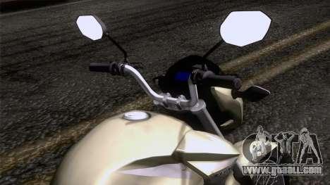 Honda CG Titan 150 2014 for GTA San Andreas right view