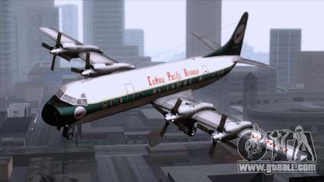 L-188 Electra Cathay P for GTA San Andreas