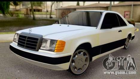 Mercedes Benz E320 W124 Coupe for GTA San Andreas