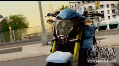 Honda CB1000R v2.0 for GTA San Andreas back view