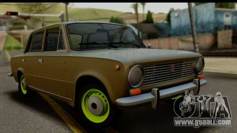 VAZ 2101 Stock v3.2 for GTA San Andreas