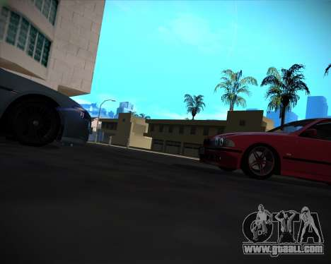 BMW 5-series E39 Vossen for GTA San Andreas wheels