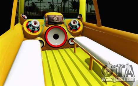Daihatsu Espass Angkot YRT for GTA San Andreas inner view