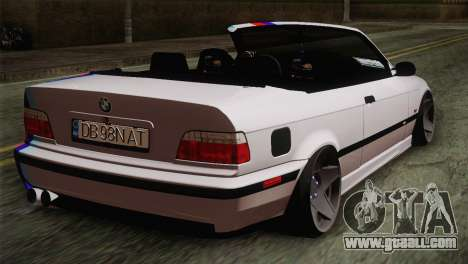 BMW E36 M3 Cabrio for GTA San Andreas left view