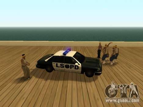 ENB v3 for GTA San Andreas third screenshot