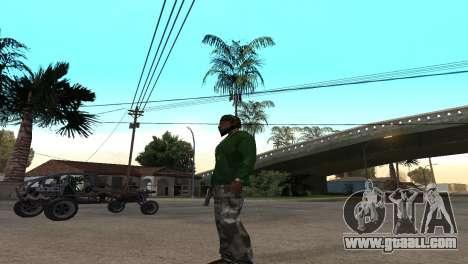 Black Deagle for GTA San Andreas second screenshot