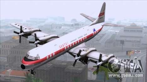 L-188 Electra Qantas for GTA San Andreas