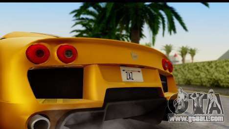 Noble M600 2010 HQLM for GTA San Andreas right view