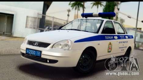 VAZ 2170 SPSP for GTA San Andreas