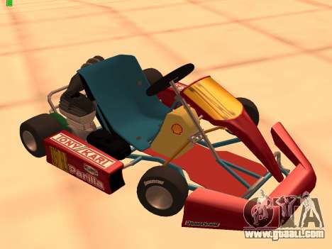 Kart per XiorXorn for GTA San Andreas