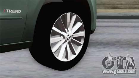 Volkswagen Golf Trend for GTA San Andreas back left view