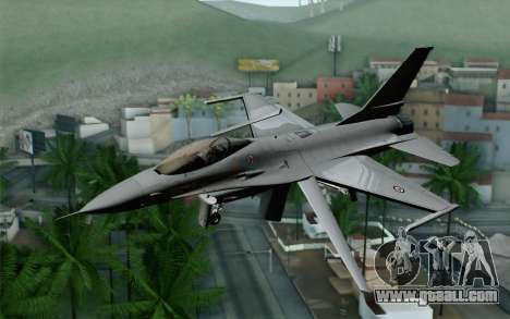 F-16 Fighting Falcon RNoAF for GTA San Andreas