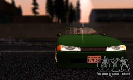 Elegy I Love GS v1.0 for GTA San Andreas side view