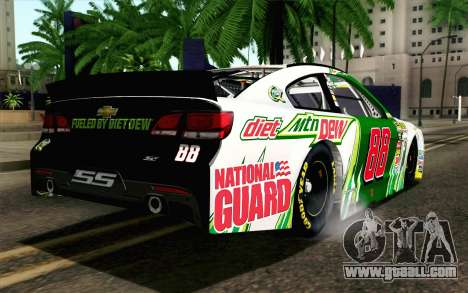 NASCAR Chevrolet SS 2013 v4 for GTA San Andreas left view