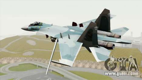 Sukhoi SU-27 PMC Reaper Squadron for GTA San Andreas left view