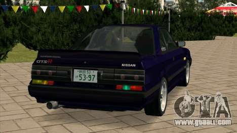 Nissan Skyline GTS-R (HR31) for GTA San Andreas back left view