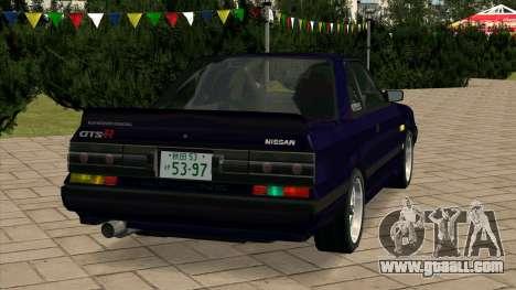 Nissan Skyline GTS-R (HR31) for GTA San Andreas back left view