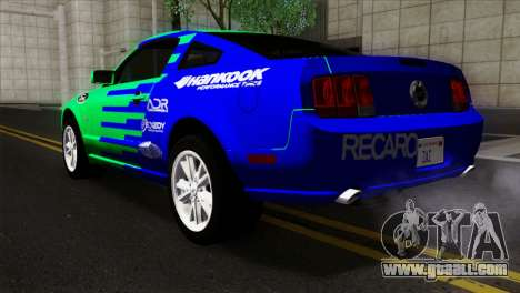 Ford Mustang GT Wheels 2 for GTA San Andreas left view