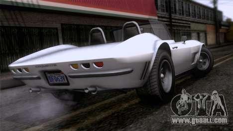 GTA 5 Invetero Coquette Classic TL for GTA San Andreas left view