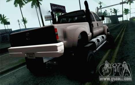 Vapid Guardian GTA 5 for GTA San Andreas left view