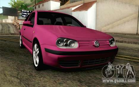 Volkswagen Golf v5 Stock for GTA San Andreas