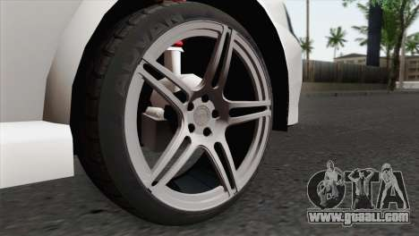 Opel Vectra 2.2 Stock for GTA San Andreas back left view